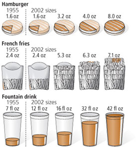 doctorfoodtruth illustration of portion size growth